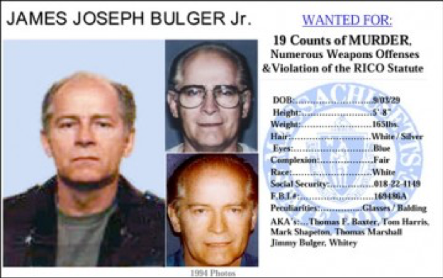 One+of+James+Bulger%E2%80%99s+Massachusetts+State+Police+Department+WANTED+posters